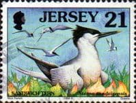 Jersey 1997 Birds SG 781 Fine Used