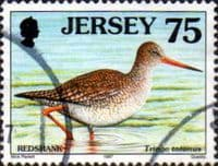 Jersey 1997 Birds SG 803 Fine Used
