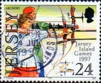 Jersey 1997 Island Games SG 819 Fine Used