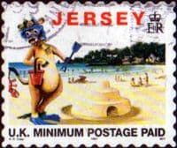 Jersey 1997 Tourism SG 772 Fine Used