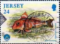 Jersey 1998 International Year of the Ocean Fishes SG 865 Fine Used