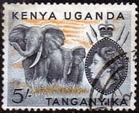 Kenya Uganda and Taganyka 1954 Animals SG 178 Fine Used
