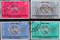 Kenya Uganda Tanganyika International Telecommunication Union Set Fine Used