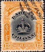 Labuan 1902 Crown Colony SG 123 Fine Used