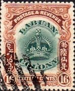 Labuan 1902 Crown Colony SG 124 Fine Used