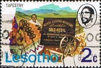 Lesotho 1976 SG 300 Tapestry Fine Used