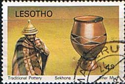 Lesotho 1980 Pottery SG 418 Fine Used