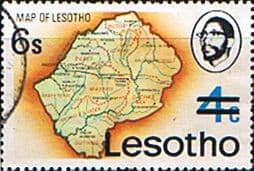 Lesotho 1980 Surcharge SG 404 Fine Used