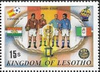 Lesotho 1982 SG 482 World Cup Football Fine Mint