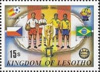 Lesotho 1982 SG 486 World Cup Football Fine Mint