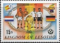 Lesotho 1982 SG 489 World Cup Football Fine Mint