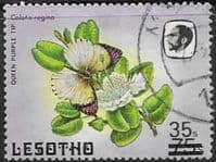 Lesotho 1986 Flowers Surcharged SG 721 Fine Used