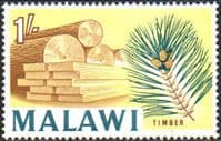 Malawi 1964 SG 222 Timber Industry Fine Mint