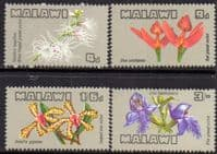 Malawi 1969 Orchids Set Fine Mint