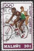 Malawi 1984 Olympic Games SG 709 Fine Used