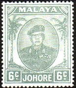 Malay State of Johore 1949 SG 137 Sultan Sir Ibrhim Fine Mint