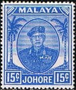 Malay State of Johore 1949 SG 140 Sultan Sir Ibrhim Fine Mint