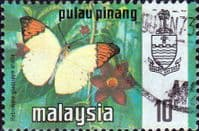 Malay State of Penang 1977 Butterflies SG 83 Fine Used
