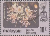 Malay State of Penang 1979 Flowers SG 89 Fine Used