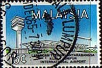 Malaysia 1965 Opening of International Airport SG18 Fine Used