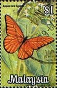 Malaysia 1970 Butterflies SG 68 Fine Used