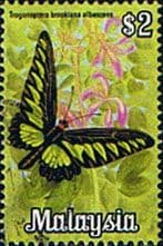 Malaysia 1970 Butterflies SG 69 Fine Used