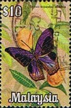 Malaysia 1970 Butterflies SG 71 Fine Used