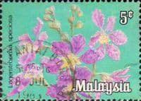 Malaysia 1979 Flowers SG K3 Fine Used
