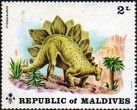 Maldive Islands 1972 Prehistoric Animals SG 400 Fine Mint