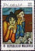 Maldive Islands 1974 Paintings by Picasso SG 501 Fine Mint