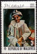 Maldive Islands 1974 Paintings by Picasso SG 502 Fine Mint