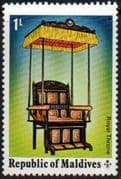 Maldive Islands 1975 Historical Relics and Monuments SG 553 Fine Mint