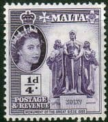 Malta 1956 SG 266 Great Siege Monument Fine Mint