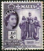 Malta 1956 SG 266 Great Siege Monument Fine Used
