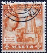 Malta 1956 SG 267 Wignacourt Aquaduct Horsetrough Fine Used