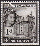 Malta 1956 SG 268 Victory Church Fine Mint