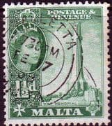 Malta 1956 SG 269 War Memorial Fine Used