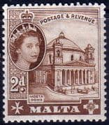 Malta 1956 SG 270 Mosta Church Fine Mint
