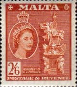 Malta 1956 SG 279 Grand Master Cottener Monument Fine Mint