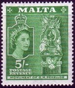 Malta 1956 SG 280 Grand Master Perello Monument Fine Mint