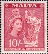 Malta 1956 SG 281 St Paul Fine Mint