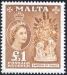 Malta 1956 SG 282 Baptism of Christ Fine Mint