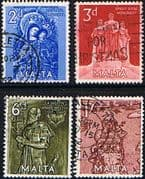 Malta 1962 Great Siege Set Fine Used