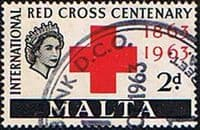 Malta 1963 Red Cross SG 312 Fine Used