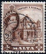 Malta 1963 SG 315 Mosta Church Fine Used
