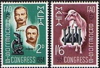 Malta 1964 Anti-Brucellosis Congress Set Fine Mint