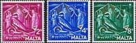 Malta 1964 Christmas Set Fine Mint