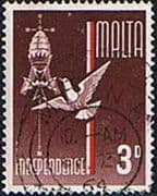 Malta 1964 Independence SG 322 Fine Used