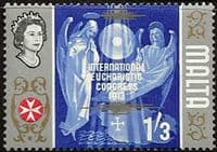 Malta 1965 SG 341 International Eucharistic Congress Fine Mint