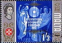 Malta 1965 SG 341 International Eucharistic Congress Fine Used